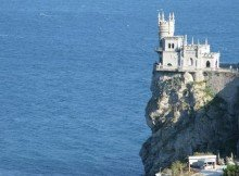 swallows nest in yalta ukraine