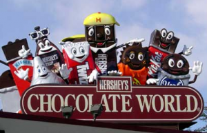 hershey-the chocolate park in pennsylvania