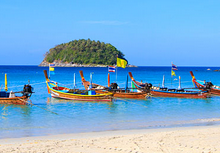 beach in phuket-thailand