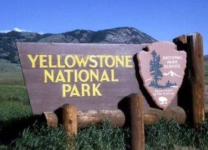 yellowstone national park-welcome