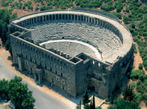 aspendos theatre-turkey