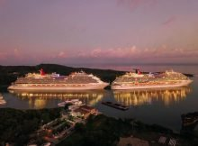 cruise ships on a cruise vacation